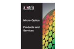 Axetris - Micro-Optics - Products and Services - Brochure