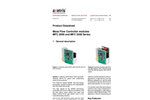 Axetris - Models MFC 2000 and MFC 2200 Series - Mass Flow Controller Modules - Datasheet
