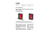Axetris - Models MFM 2100 & MFC 2100 Series - Mass Flow Controller - Datasheet