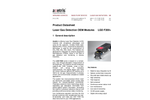 Axetris - Model LGD F200-A CH4 - Laser Gas Detection Modules - Datasheet