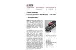 Axetris - Model LGD F200-A NH3 - Laser Gas Detection Modules - Datasheet