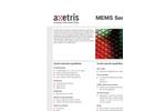 Axetris - MEMS Manufacturing Services - Brochure
