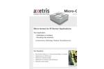 Axetri - Micro-Lenses for IR Sensor Applications - Brochure