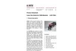 Axetris - Model LGD F200-A CO2 - Laser Gas Detection OEM Module - Datasheet