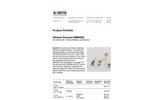Axetris - Model EMIRS50 - Infrared Sources - Datasheet