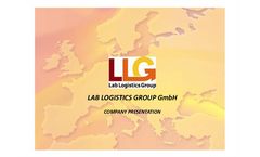 1 LAB LOGISTICS GROUP GmbH  COMPANY PRESENTATION    ? LLG is a cooperative located in Meckenheim, Germany  ? LLG is owned by 28 strong laboratory dea