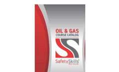 Oil & Gas Training - Brochure
