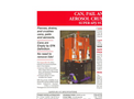 Aerosol Can Crushers - Teemark Super 6 PJ-VC Brochure