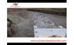 Norwood Waterworks DO2E Floating Aerator Mixer - Video