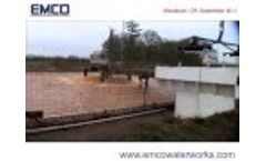 EMCO DO2E Floating Aerator Mixing Solutions - Video