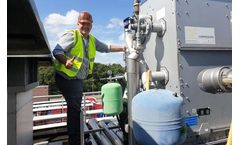 HydroFLOW water treatment installed at a soft drink manufacturer in the Netherlands
