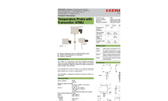 Model GTMU - Temperature Transducer Brochure