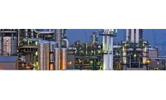Industrial water treatment products for chemical processing