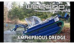 Weedoo Amphibious Dredge - Video