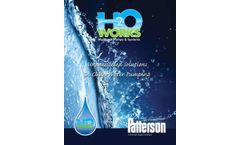 Patterson - H2O Works Axial and Mixed Flow Water Pumps - Brochure