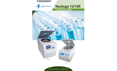 Heal Force - Model Neofuge 13/13R - Laboratory Centrifuge - Brochure