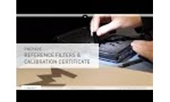 Preparation of a Spectrophotometer for the Calibration with Hellma Glass Filters Video
