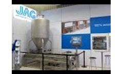Powder emptying station in use Video