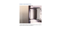 Indirect Exchange Air Heaters Brochure