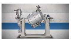 Tumble - Rotary Cylindrical Vacuum Dryer
