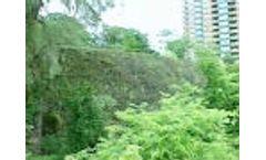 Vegetated Geoweb Geocell Retaining Wall - Video