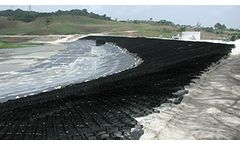 Environmental solutions for the geomembrane protection