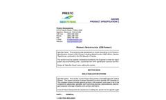 Geoweb CSI-Format Specification (PDF 68 KB) - Brochure