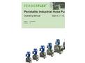 Verderflex  - Models Dura 5, 7, 10, 15, 25, 35 - Peristaltic Industrial Hose Pump - Operating Manual