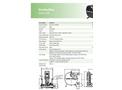 Verderflex - Model Dura 45 - Industrial Peristaltic Hose Pump and Tube Pump - Metric Datasheet