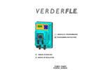 Verderflex - VP Pro PH-RX Tube Dosing Pump - Manual