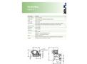 Verderflex - Model Dura 5 - Peristaltic Industrial Hose and Tube Pumps - Metric Datasheet