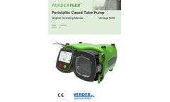 Verderflex Vantage - Model 5000 Modbus - Peristaltic Cased Tube Pumps - Manual