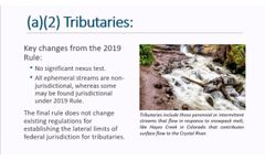 Navigable Waters Protection Rule Webcast - Video