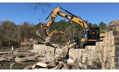 Milburnie Dam Demolition - Video