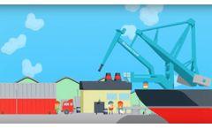 Siwertell dry bulk handling - Infographic film - Video