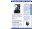 Hydrotron - Model HWF Series - Ducted Wet Type Dust Collector Brochure