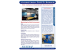 Hydrotron Downdraft Table Dust Collector-DHYD Series - Brochure