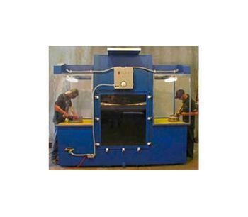 Hydrotron - Model DHYD Series - Wet Type Dust Collector / Downdraft Table
