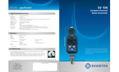 Castle - Model 5 x SV104-01NK004C - Compact Personal Noise Dosimeter Kit -Brochure