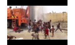 Water Discovery in Borno State, Nigeria Delights Local Children- Video