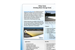 Pillow Tanks Drinking Water Storage Tanks - Brochure