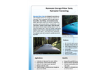 Rainwater Storage Pillow Tanks - Rainwater Harvesting - Brochure