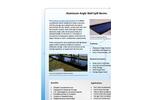 Aluminum Angle Wall Spill Berms - Brochure