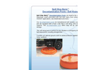 Spill Containment Pools Flyer Brochure
