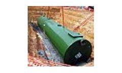 Underground High DRO Steel Water Tanks