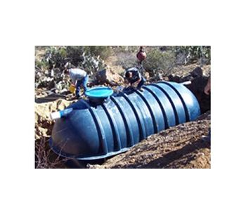 Above and Underground Fiberglass Septic Tanks