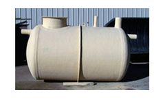 Fiberglass Underground Storage Tanks