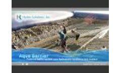 Hydro Solutions, Inc. - Aqua-Barrier - Video