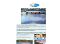 Aqua-Barrier™ for Pool Repair & Maintenance - Brochure