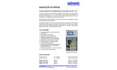 Aquacon - Model Fe10 - Process Analyzers Brochure
